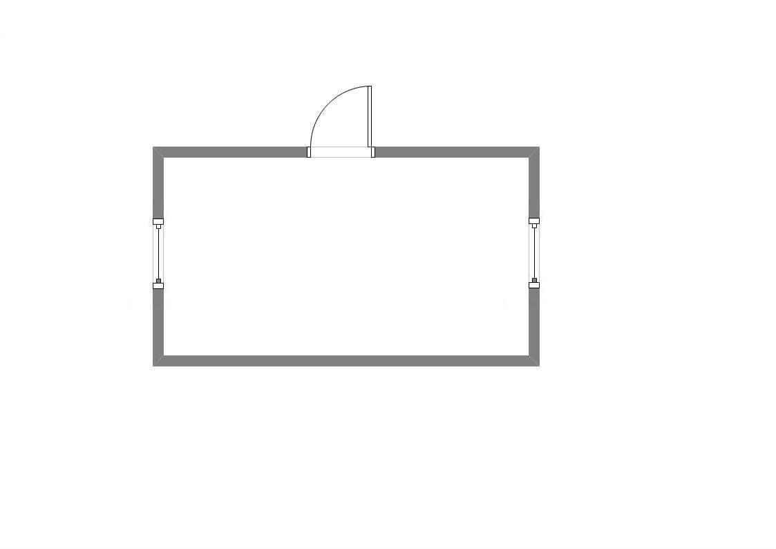 Блок-контейнер двухэтажный 01