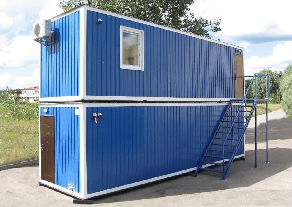 Блок-контейнер двухэтажный 02