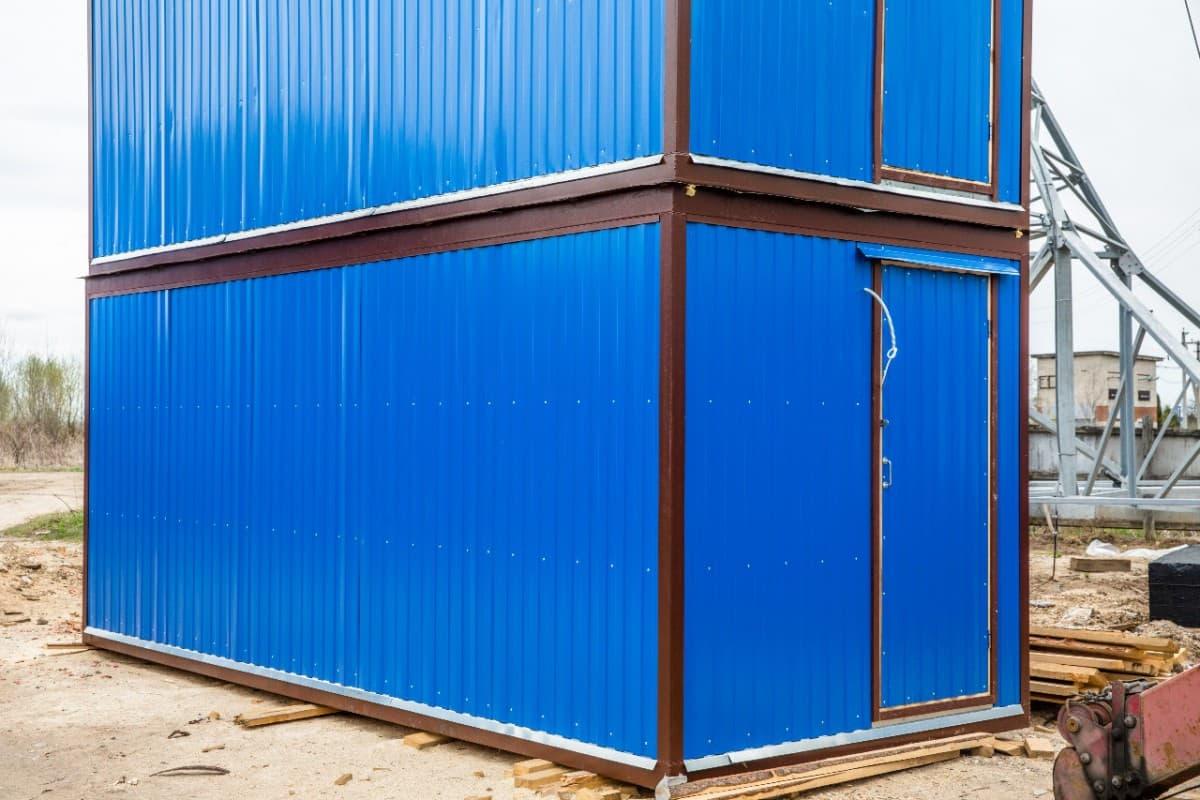 Блок-контейнер двухэтажный 04