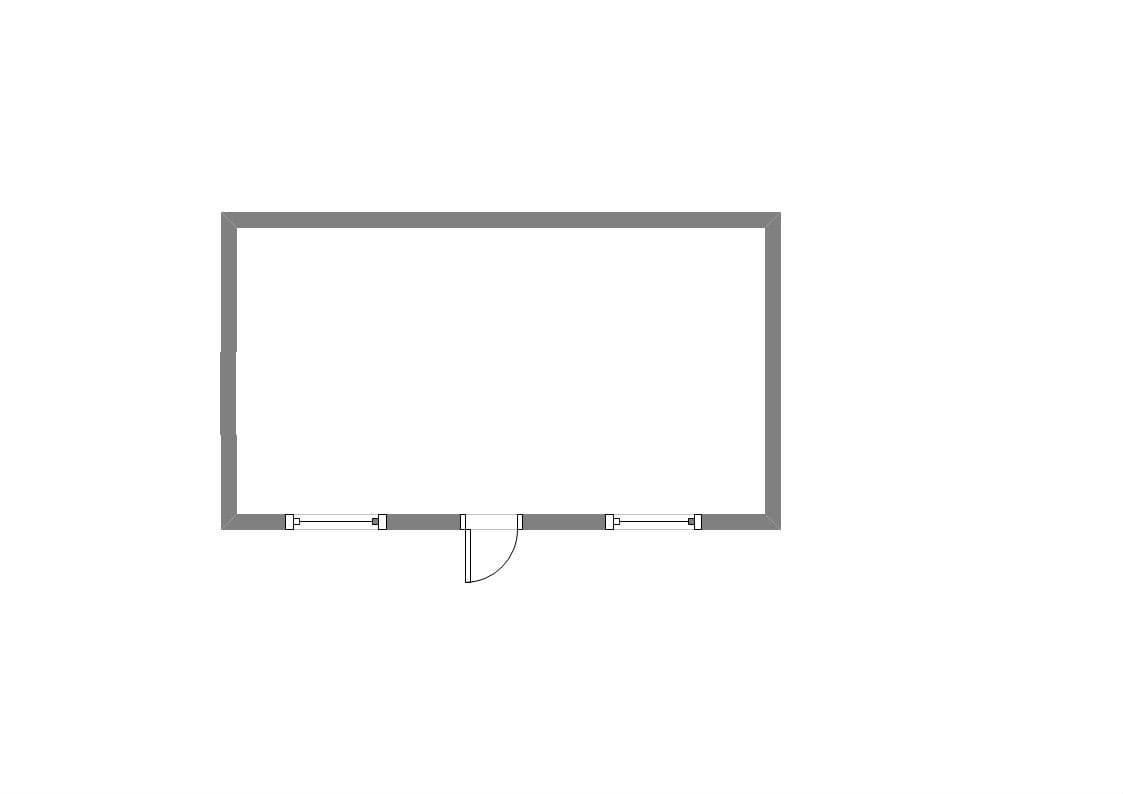 Модульный блок-контейнер двухэтажный 01