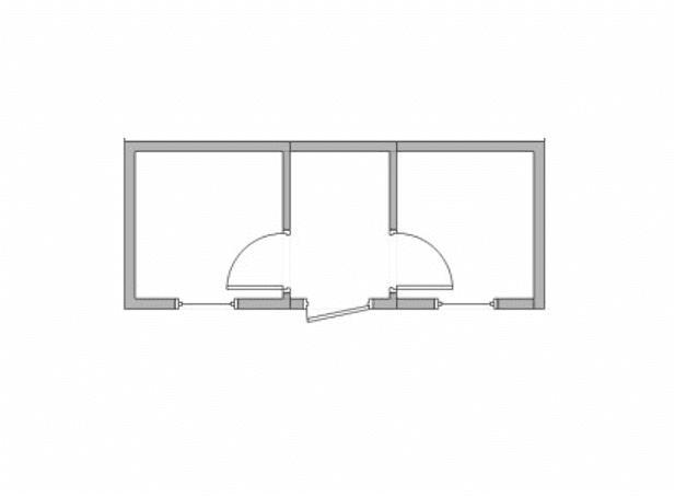 Модульный вагончик двухэтажный 05