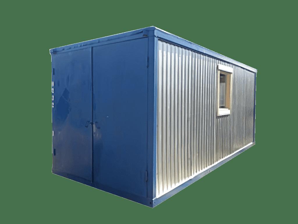 Блок-контейнер под гараж - 02