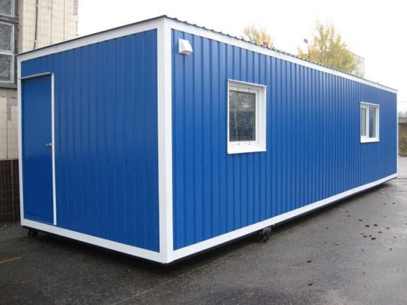 Блок-контейнер сантехнический с душем малый - 02