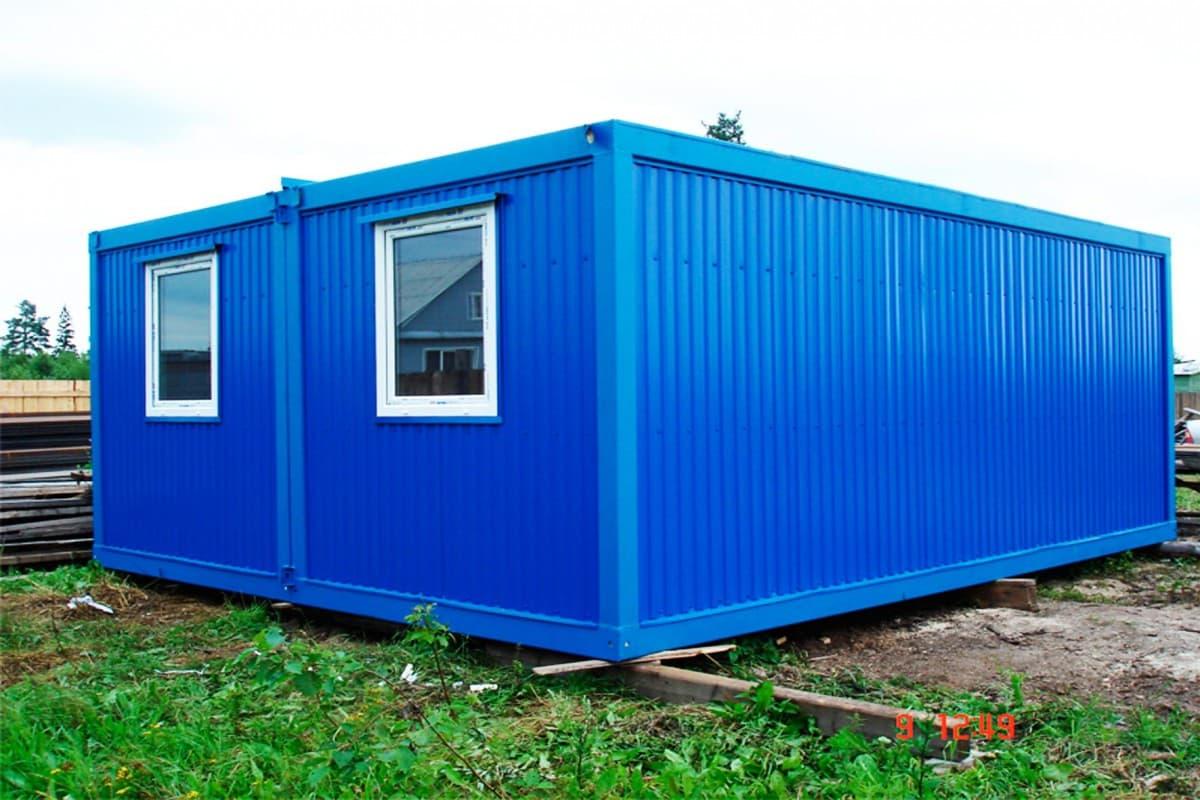 Модульный блок-контейнер под штаб строительства - 01