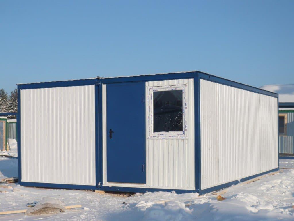 Модульный блок-контейнер под штаб строительства - 06