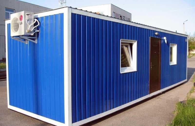 Блок-контейнер под лабораторию 01