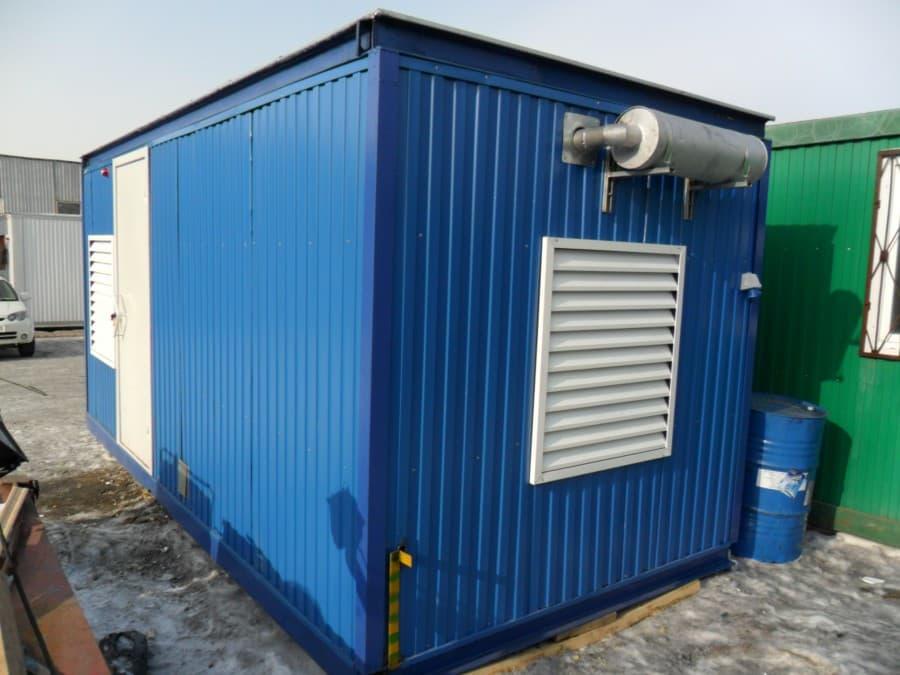 Бытовка для дизельной электростанции - 01