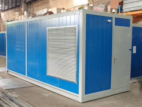Вагончик для дизельной электростанции - 03