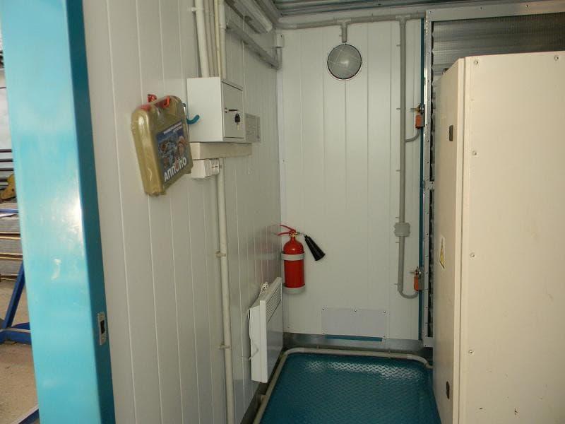 Блок-контейнер для компрессорных и котельных - 01