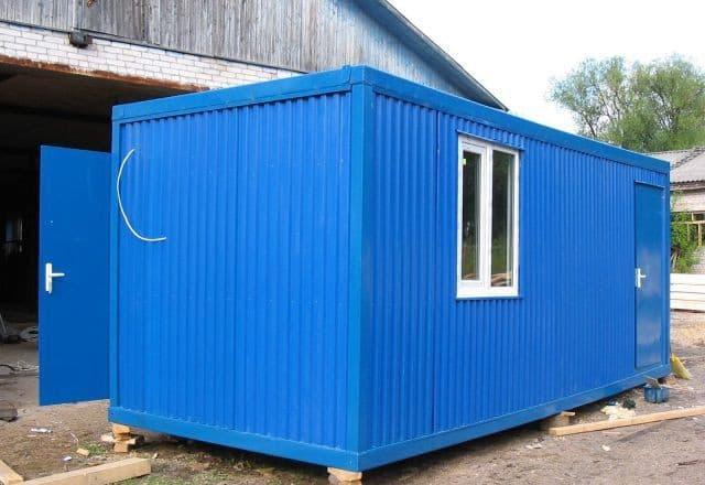 Блок-контейнер для компрессорных и котельных - 02