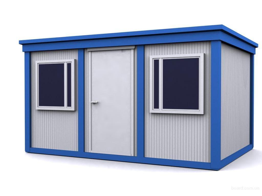 Блок-контейнер промышленный - 04