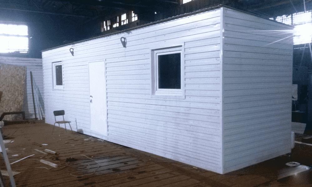 Блок-контейнер под офис - 02