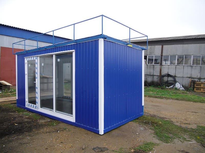 Блок-контейнер под офис - 04