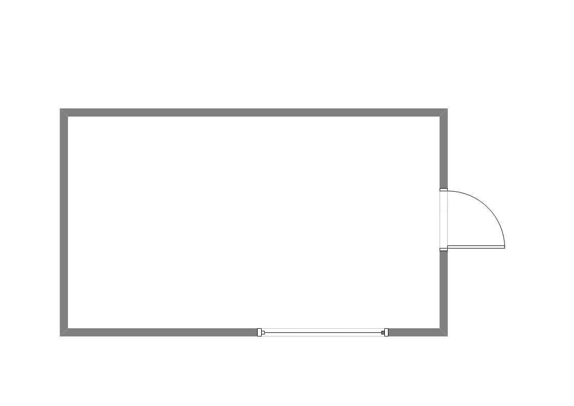 Хозблок металлический для дачи ХБ-09