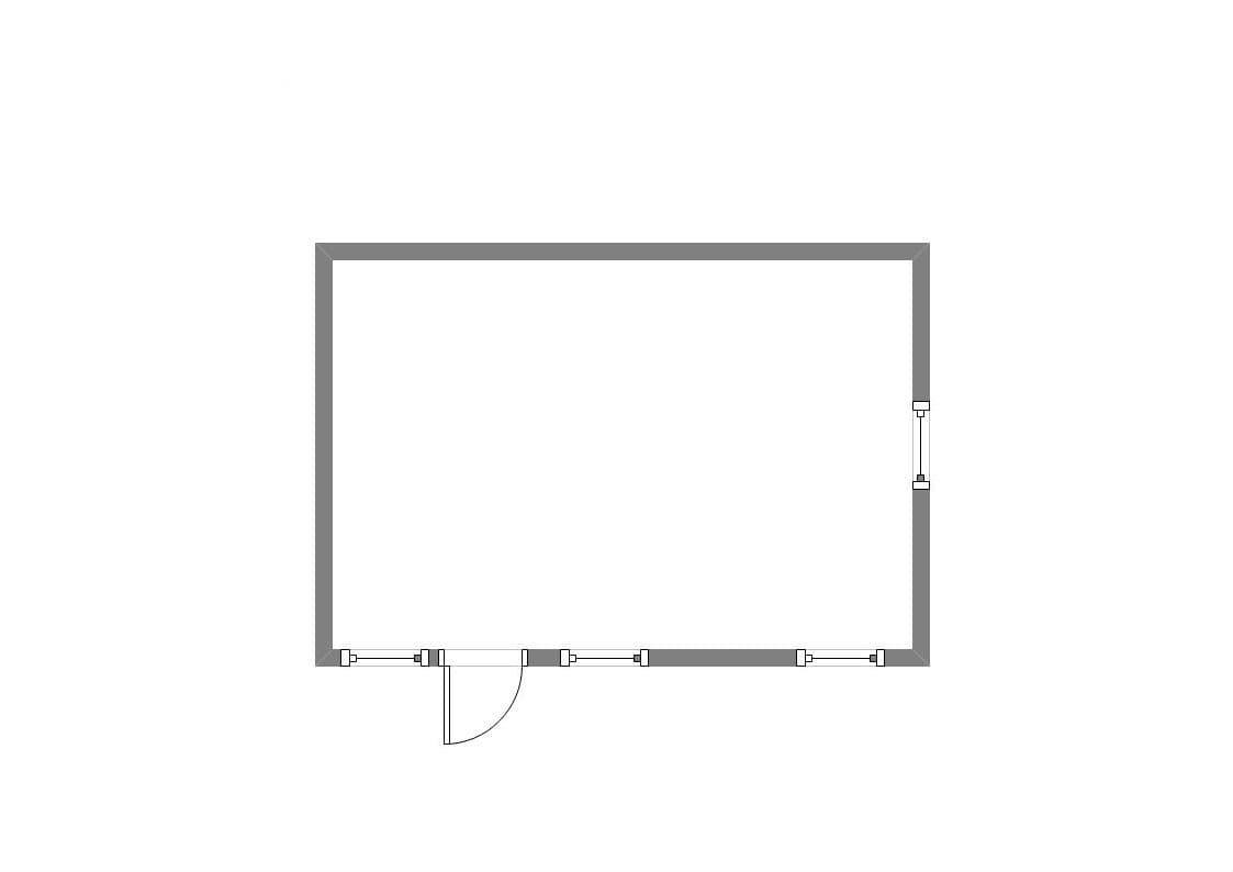 Модульный блок-контейнер административный - 06