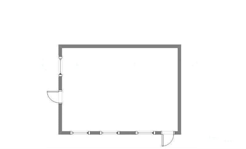 Модульный блок-контейнер бытовой - 07
