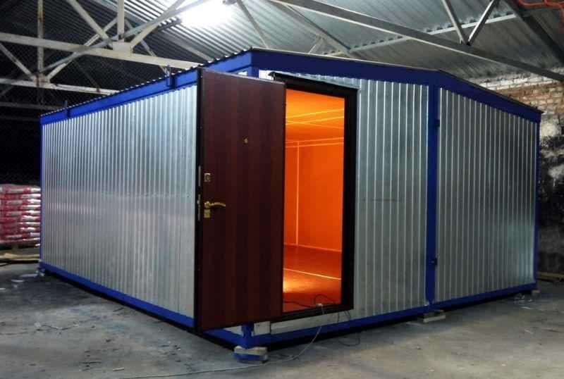 Модульный блок-контейнер под оборудование -05