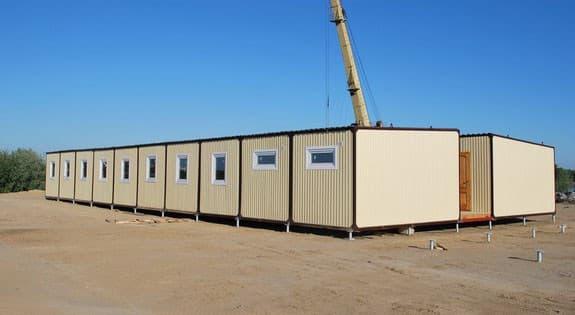 Модульный блок-контейнер пункт питания -04