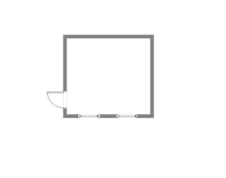 Модульный блок-контейнер пункт питания -05