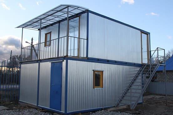 Модульный блок-контейнер строительный -02