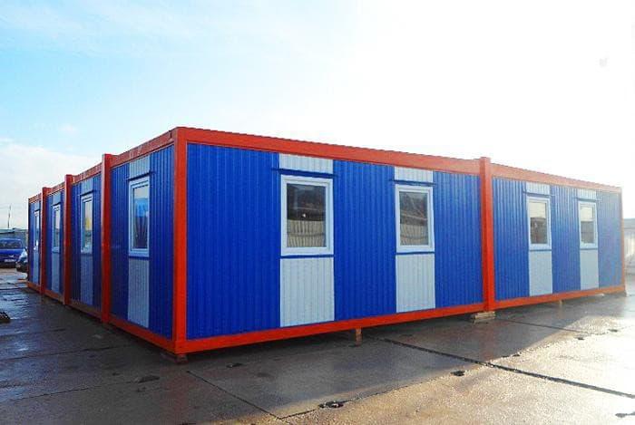 Модульный блок-контейнер строительный -05