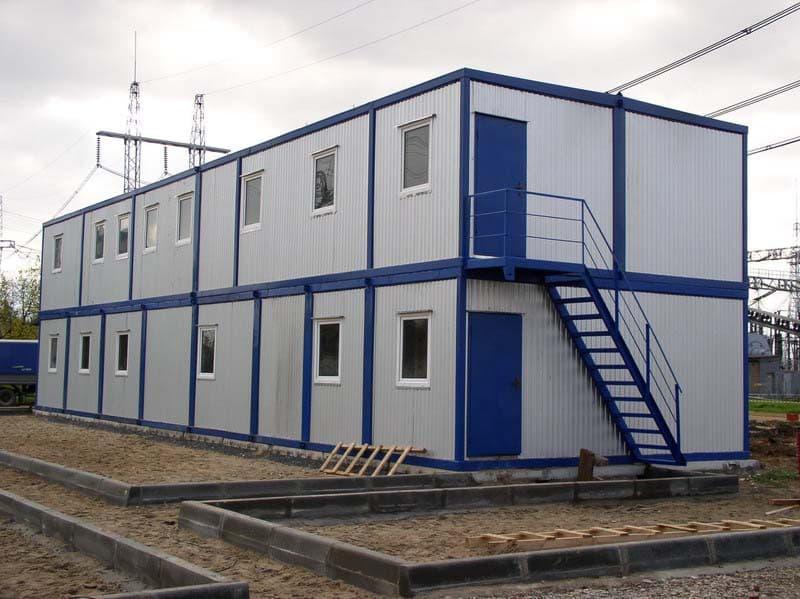 Модульный блок-контейнер под вахтовый городок -04